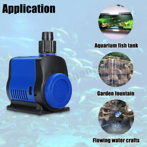 500/1500/2500/3500L/H Submersible Aquarium Water Pump Fish Tank Pond Filter
