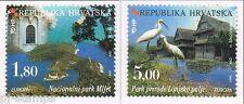 1999 Kroatië 498-499 Europa CEPT Nationale parken