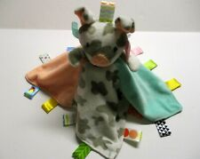 New listing Taggies Gray Peach Pig Security Blanket Tabs Lovey