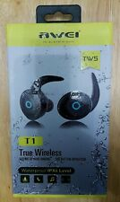 Awei T1 TWS Wireless Earphone Mini BT V4.2 Headset Double Wireless Earbuds