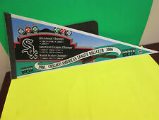 MLB- CHICAGO WHITE SOX 1901-2006 CHAMPS PENNANT 12X30