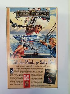 Vintage Original Forgotten Realms 1992 TSR  Magazine Advert gaming