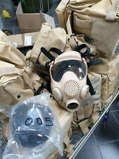 More details for polish army mp5 tan gas mask respirator cbrn nbc nuclear protective unissued uk