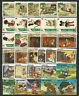 WALT DISNEY CARTOON STAMPS COLLECTION PACKET of 30 Different Stamps MNH (Lot 2)