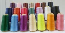 100% Polyester assorted Cotton Threads Spools Sewing stitching Machine Reel