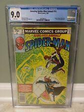 Amazing Spider-Man Annual #14 - Marvel 1980 CGC 9.0 Doctor Strange, Doctor Doom