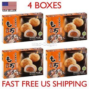 Mochi Royal Family Daifuk Japanese Dessert Japan Rice Cake USA Peanut 4 Pack