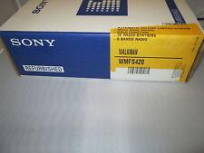 Sony WMFS420 Sports Cassette Walkman Auto Reverse WM-FS420