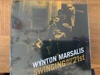WYNTON MARSALIS - SWINGING INTO THE 21ST (10 ALBUM CD BOX SET)