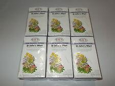 6 x 30 Tea bags HILDE HEMMES HERBALS St Johns Wort (Total: 180 bags)