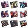Marvel Superhero Wallet - Endgame - Spider-Man - Thanos - Iron Man / Zip Pocket