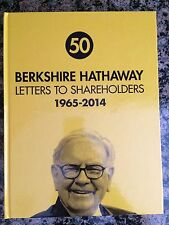 HARDCOVER Berkshire Hathaway Letters to Shareholders 1965-2014 Warren Buffett