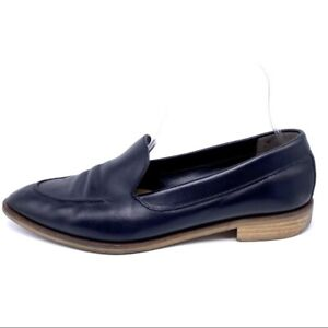 Everlane The Modern Point Black Leather Loafer Made In Italy Women's Size 9.5