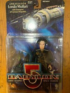 Babylon 5 B5 Ambassador Londo Mollari Transport of Centauri Republic figures MIP