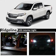 2017 Honda Ridgeline White Interior Package Kit + Reverse+ Tag LED Lights