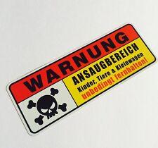 Ansaugbereich Aufkleber Sticker Shocker JDM / OEM Style Autoaufkleber Scooter