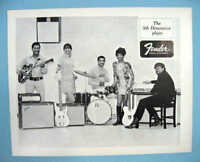 FENDER GUITAR The 5th DIMENSION AND SERGIO MENDES 1968 PROMO PHOTOS
