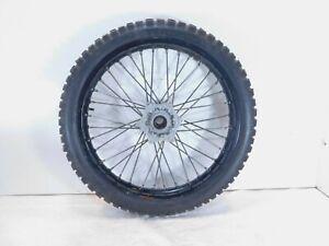 KTM 990 Adventure / S Black Front Laced Wheel Rim Hub & Tire - 6000900114430