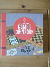 The Institute of Games & Puzzles Games Compendium (6 Games) Backgammon Chess NEW