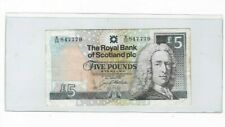26 MARCH 1997  Bank of Scotland Five Pounds Sterling Banknote