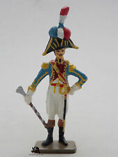 Figurine Soldat Plomb Starlux Tambour Major 3e Rgt Ligne  Empire Napoléon Figure