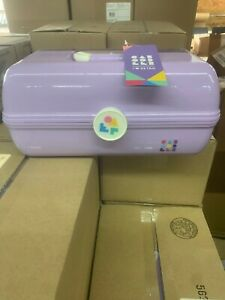 NEW CABOODLES ON THE GO GIRL CLASSIC MAKEUP TRAVEL CASE/ORGANIZER PURPLE
