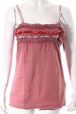 Hängerchen weiß rot XS-M schwarz rosa Spaghettiträger 34-38 blau Top