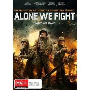 ALONE WE FIGHT DVD, NEW & SEALED ** NEW RELEASE ** 030321, FREE POST
