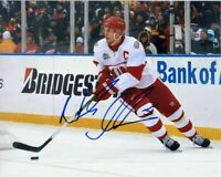 Nicklas Lidstrom Autographed Signed 8x10 Photo ( Red Wings ) REPRINT