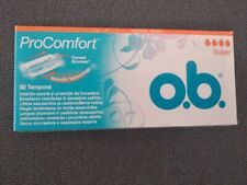 O.B Procomfort 32 Pack tampons silk touch cover smooth technology