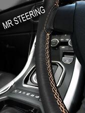Pour Jaguar Daimler Marque 2 59-69 Housse Volant Cuir Beige Double Point