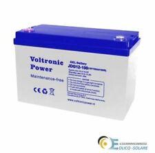 Batteria GEL 100ah 12V Voltronic
