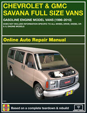 Repair Manuals Literature For Chevrolet Express 2500 For Sale Ebay