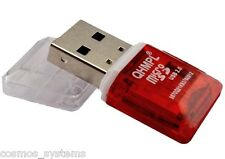 2 X Quantum MICRO SD CARD READER QHM5570 3in1 USB Flash Drive USE AS PEN DRIVE