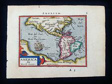 1601 A. ORTELIUS - rare map of AMERICA SIVE NOVUS ORBIS, AMERICAS, UNITED STATES