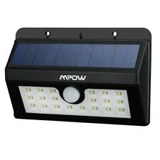 MPOW 20 LED Solar Lights Outdoor Security Lights with Motion Sensor MSL7D - NEW