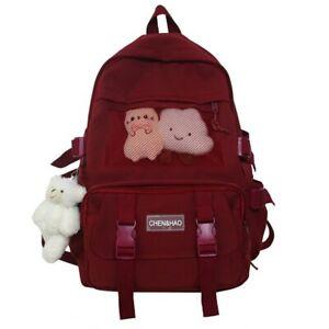 Fashion Backpack Cute Nylon Waterproof School Bag for Teenager Girls Kawaii