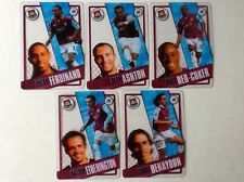 TOPPS PREMIER LEAGUE 2006/07 I-CARDS. FULL SET OF ALL 5 WEST HAM UNITED