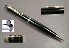Pelikan 450 pencil in black version excellent cond rare name engraved #