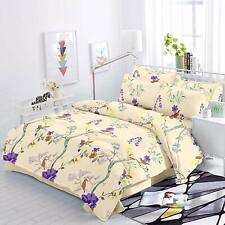 Trance Home Linen Cotton 200TC Printed Queen Double Bedsheet 2 Pillow Covers