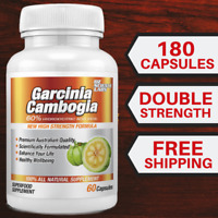 3 x Garcinia Cambogia 180 Capsules - WEIGHT LOSS  FAT BURNER - 3 Months Supply