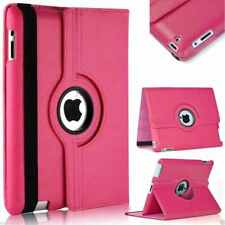 For iPad Case Cover - Leather Shockproof 360 Rotating Stand ALL MODELS