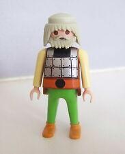 PLAYMOBIL (M301) VIKINGS - Viking Homme Adulte Nommé Olof Drakkar 3150 3157
