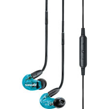 Shure SE215 Special Edition Sound Isolating Earphones, Blue