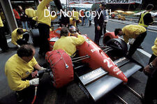 Michele Alboreto Ferrari F1/87-88C Belgian Grand Prix 1988 Photograph