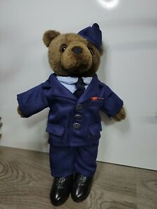 Military Air Force Bear Forces America Teddy Bear Uniform Stuffed Animal Plush