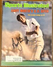 Andy North Signed Sports Illustrated SI 6/26/78 PGA Golf US Open