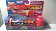 1994 HOT WHEELS TOP SPEED CATAPULT LAUNCHER - TUBE - CYROPUMP & CORKSCREW CARS