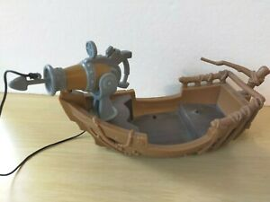 """Pirates of the Caribbean Spin Master Boat Disney 7"""" Long"""