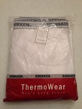 NEW Nikken ThermoWear Long Johns Pants/Thermal Underwear XXL #1794 FREE SHIPPING